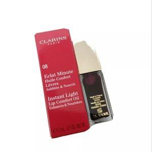 Clarins   Instant Light Lip Comfort Oil Raspberry